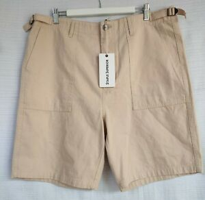 The Iconic Men's Barkley Worker Shorts Size 36 Brand New Staple Superior Cotton