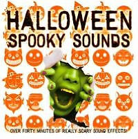 CD - VARIOUS - HALLOWEEN SPOOKY SOUNDS - SEALED