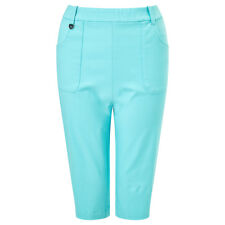 Callaway Ladies Pull-On City Golf Shorts with Opti-Stretch in Turquoise 37% OFF