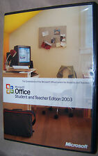 Microsoft Office Student and Teacher Edition 2003 Without Product Key! FREE SHIP
