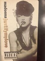 Madonna Justify My Love VHS Video 1990