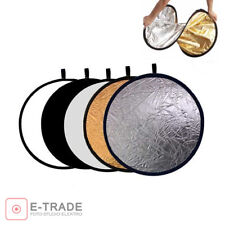 """[23.5""""] 60cm 5in1 Disc Photo Photography Light Multi Reflector Panel Collapsible"""
