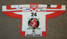 EHC Visp (Swiss League) / #24 - OCHSNER - MENS Ice-hockey Jersey / Shirt. Size L