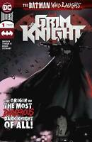 Batman who Laughs Grim Knight #1 DC Universe Comic 1st Print 2019 unread NM