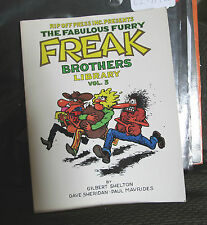 The Fabulous Furry FREAK Brothers Library Vol 3 Gilbert Shelton Rip Off Press 88