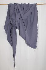 cocon.commerz PRIVATSACHEN  Dreiecktuch aus Baumwolle in blaugrau