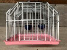 Small Pet Bird Lizard Transporter Carrier Cage