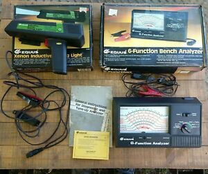 Equus 6 function bench analyzer 3030 & inductive Timing Light Pickup 3120