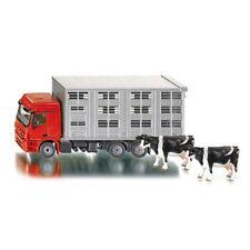 SIKU Livestock Lorry Mercedes Transporter with Cows 2713 1:50 Model Farm Toys