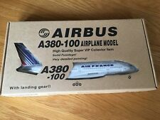 AIR FRANCE AIRBUS A380-100 LARGE SOLID RESIN MODEL & Gear 1/200 Risesoon Rare