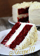 "☆Decadent!☆Red-Velvet Cheesecake Cake ""RECIPE""☆From Baking Angels of Heaven! :)☆"
