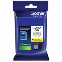 Brother International LC3029Y Yellow Cartridge Ultra Ink High Yield For
