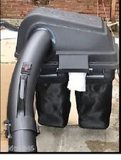 "CRAFTSMAN NEW 2-BIN GRASS CATCHER BAGGER  FOR 46"" RIDING MOWERS  FREE S&H"