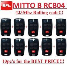 10 X BFT MITTO4, MITTO B RCB04 R1, 4-channel remote 433,92Mhz. 10 Pieces!!!