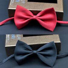 Kids Black & Red Simple Easy Formal Partying Cut & Handsome looking Bow Ties