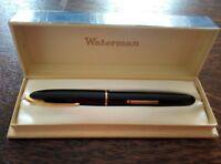 Jolie stylo plume ancien WATERMAN / Plume en OR
