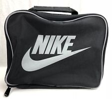 Nike Air Vintage Big Logo Lunch Box Cooler Insulated Pale Bag 90s Thermos Freesh