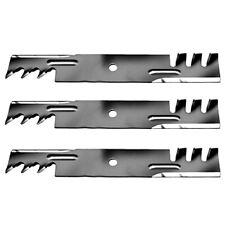 """3 Mulch Blades for Hustler Raptor SD 797704 797712 54"""" Deck Mower XR7 SUPER Z"""