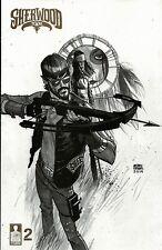 SHERWOOD TEXAS TX #2 1:10 variant 1st print 12-GUAGE COMIC 2014 robin hood story