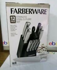 Farberware  12 Piece Stamped Stainless Steel Cutlery Set (Plz Read)