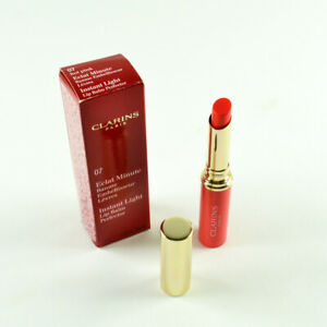 Clarins Instant Light Lip Balm Perfector #07 Hot Pink - Size 1.8 g / 0.06 Oz.