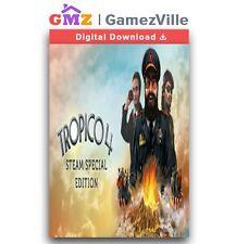 Tropico 4: Steam Special Edition Steam Key PC Game Digital Code [EU/US/MULTI]