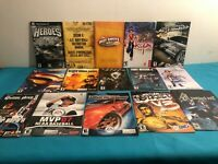 Bundle of 35+ FRENCH sony PS2 game manuals