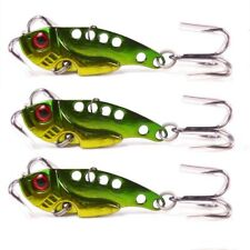 Vibe Fishing Lures Switch blade Lure 3 Pack 42mm 7g Pro Vibes Bream Flathead A1!