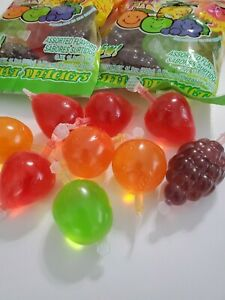 Fruit Jelly TIK TOK CANDY 1 Bag (9 pieces) Din-Don - SHIPPING IMMEDIATELY