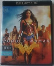 DC COMICS WONDER WOMAN 4K ULTRA HD BLU RAY 2 DISC SET FREE WORLDWIDE SHIPPING