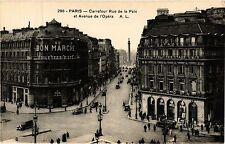 CPA PARIS 2e-Carrefour Rue de la Paix et Avenue de l'Opéra (321993)