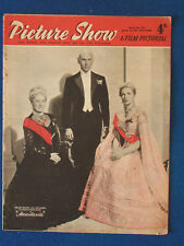 Picture Show Magazine - 2/3/1957-Yul Brynner, Ingrid Bergman & Helen Hayes Cover