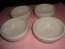 Lot of 4 Vintage VICTOR CHINA Soup Chili Bowls  OLD Restaurant Ware Thick 5""