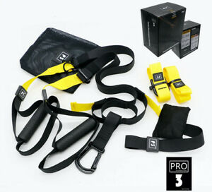 P3 PRO SUSPENSION TRAINER WORKOUT TRAIN AT HOME GYM FITNESS CROSSFIT UK(NOT TRX)