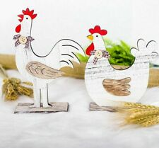 Ornament Easter Wooden Chicken Party Decors Kids Toy Easters Festival Accessory