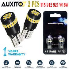 T10 194 168 2825 CANBUS License Plate Side Marker Light 6000K White LED Bulbs EA