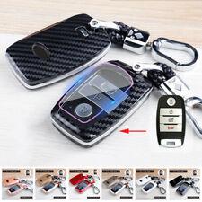 For Kia Optima Sorento Soul Abs Car Smart Key Fob Case Cover Keychain Accessory Fits Kia Soul