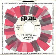 Oliver Morgan  Who Shot the Lala  Killer New Orleans R&B GNP 318x. Promo copy