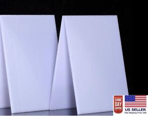 PTFE Virgin Sheet  36''x 24'' x(1/6) 4mm - .157 thickness WHITE