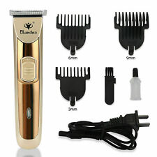 Electric Rechargeable Men Hair Clipper Shaver Trimmer Razor haircut Grooming Kit