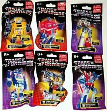 Transformers Hasbro Prexio Limited Edition Mini Figures Complete Set - Lot of 6