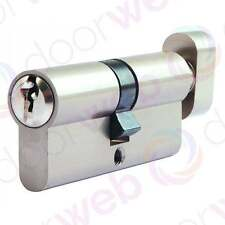 EURO CYLINDER Thumb Turn Lock Barrel Door Aluminium Security UPVC 5 Pin T35/35