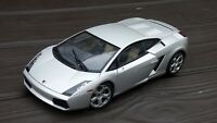 AutoArt 1:18 2004 Lamborghini Gallardo Silver Metallic Detailed Model Car Toy