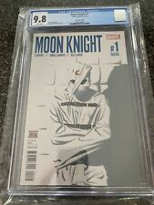Moon Knight #1 2nd Print CGC 9.8 White Pages (Greg Smallwood cover)