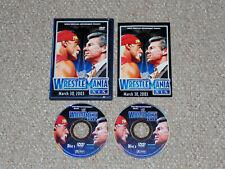 WWE Wrestlemania XIX 2003 DVD Complete Canadian