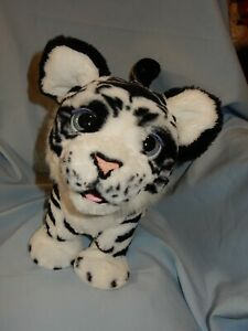 FurReal Friends Roarin' Ivory The Playful White Tiger Interactive WORKS