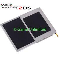 New OEM Original Nintendo 2DS Replacement TOP & BOTTOM LCD Upper Lower Screen