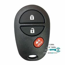 NEW Replacement For 2004-2017 SIENNA Keyless Entry Remote Control GQ43VT20T