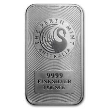 1 oz Australien Perth Mint 999 Silber Silberbarren - Schwan Känguru