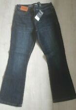 Womens Next Crop Flare High Rise Jeans Bnwt Rrp £24 Size 8 Reg